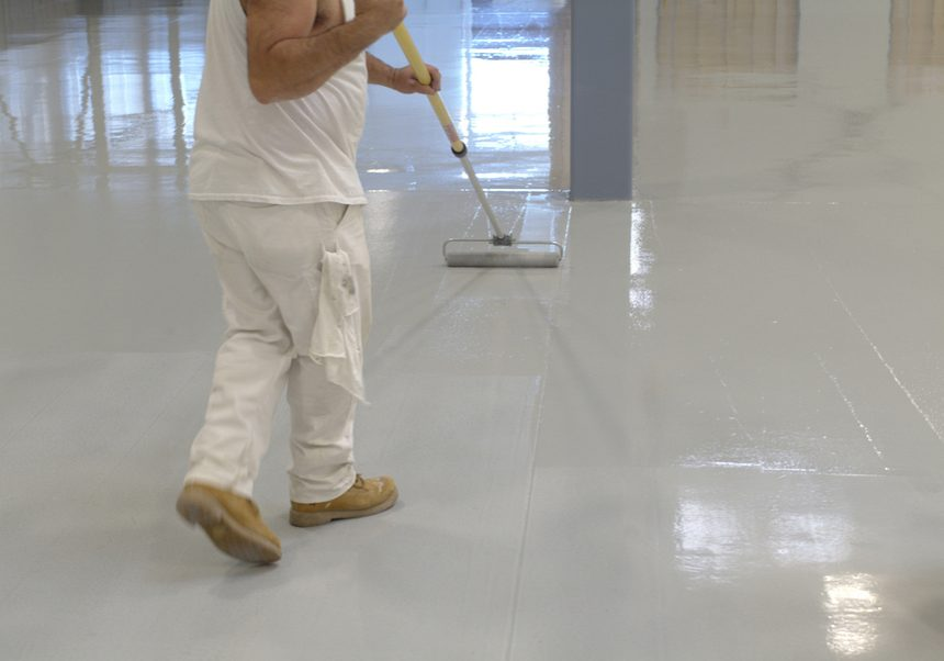 Epoxy Flooring Milwaukee - Rollpaint