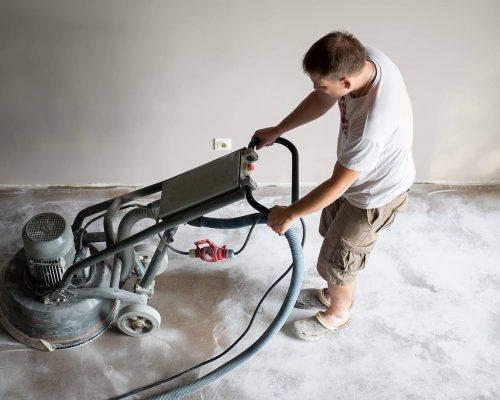 Epoxy Garage Installation